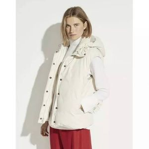 Vince puffer vest small